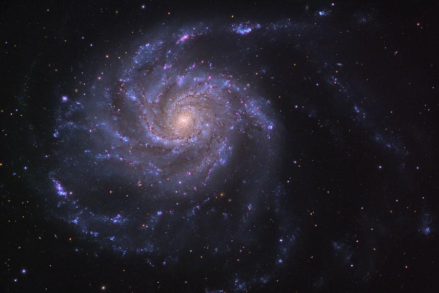 M101: La Galaxia del Molinete
