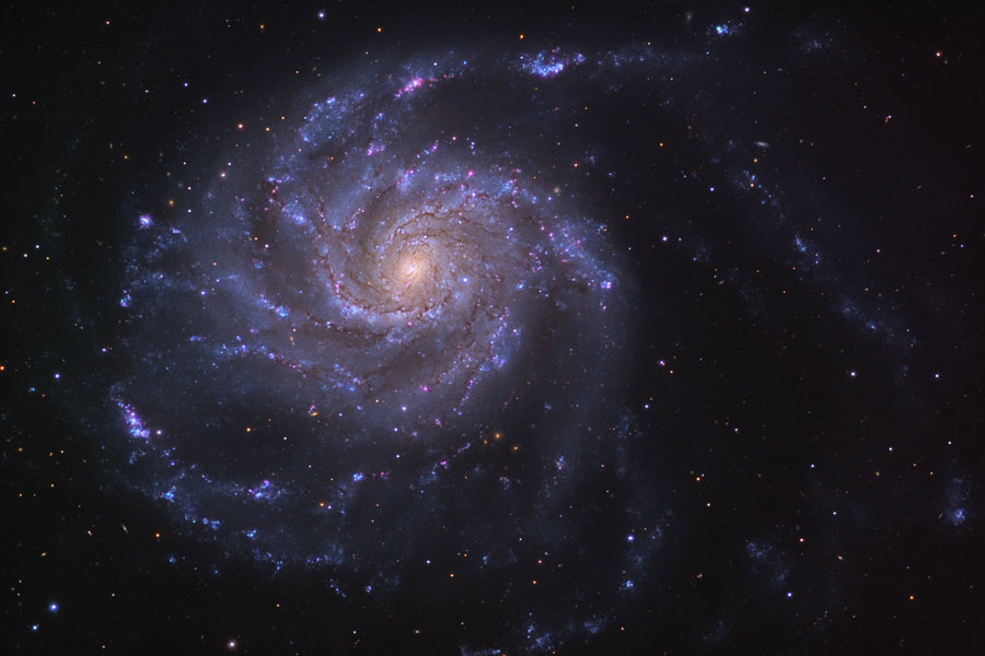 M101 ، کهکشان مارپیچ