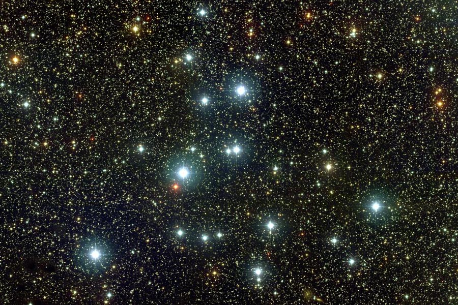 M39: Cúmulo abierto en Cygnus