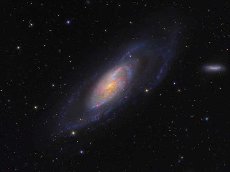 مجرة M106 M106_KC_c800