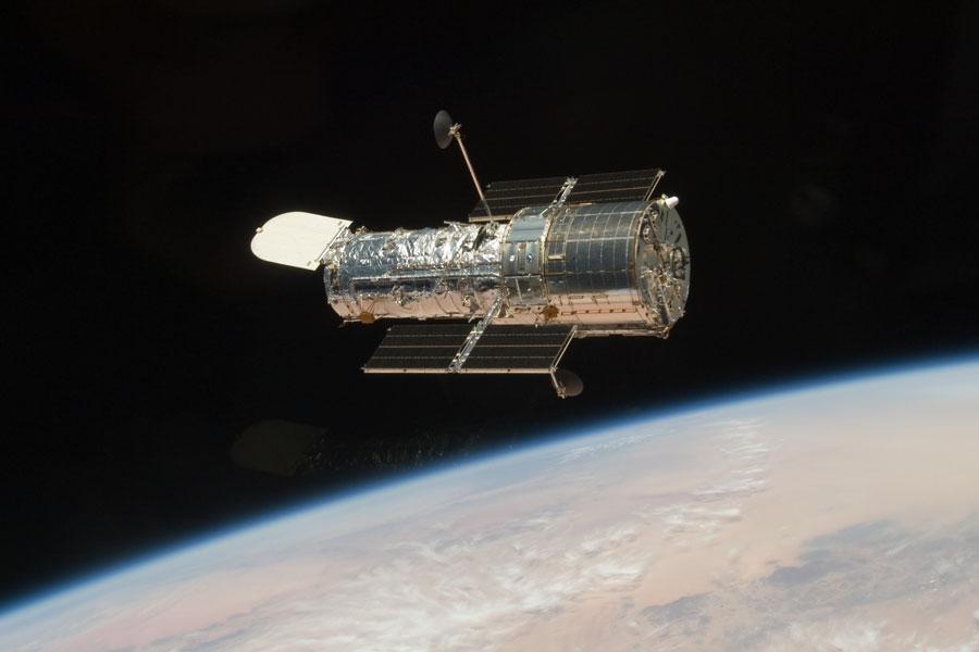 El Hubble flota en libertad
