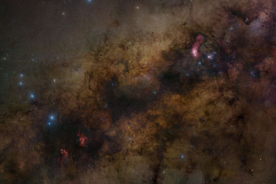 Sagitario y el Centro de la Vía Láctea