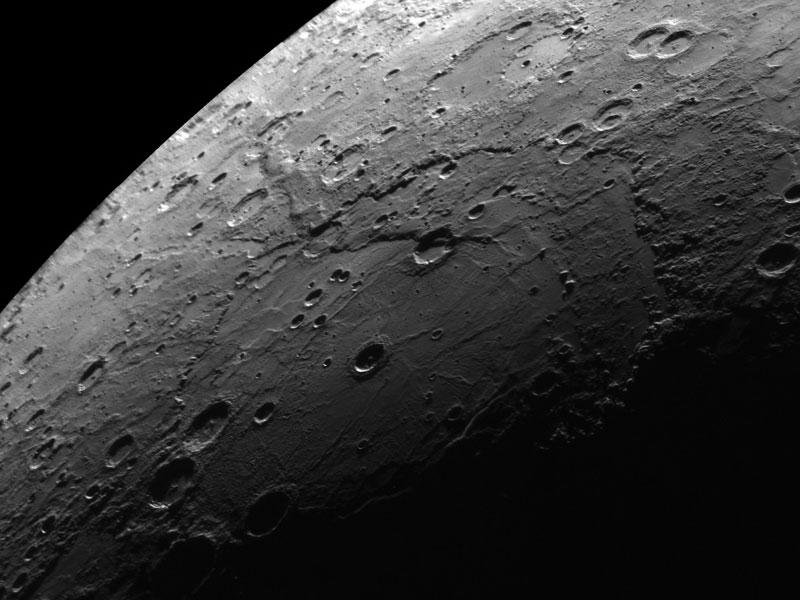 Cuenca de impacto Rembrandt en Mercurio