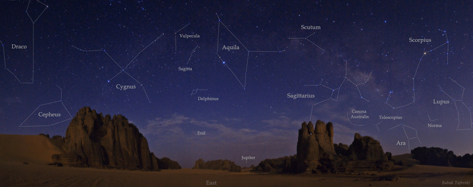 Noche estrellada saharaui