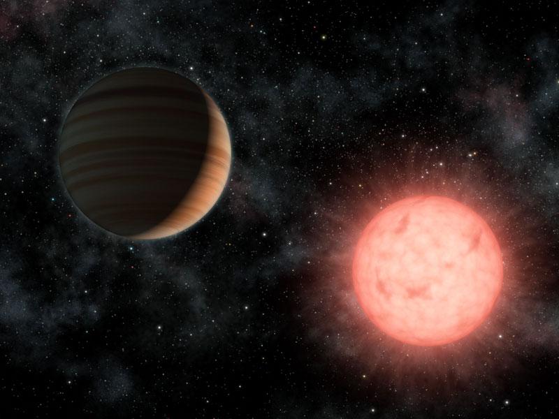 VB 10: Un gran planeta orbitando a una pequeña estrella