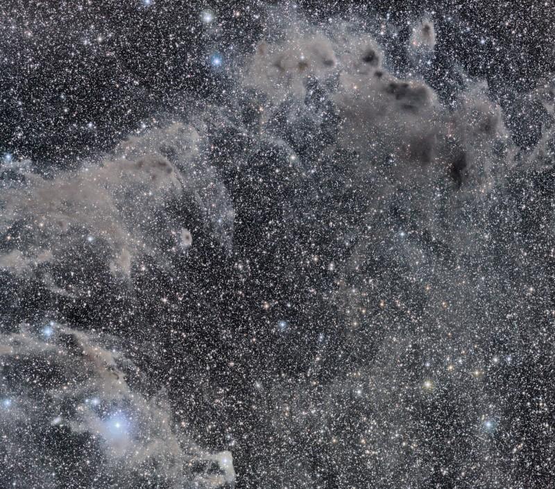 La nebulosa oscura del Camaleón
