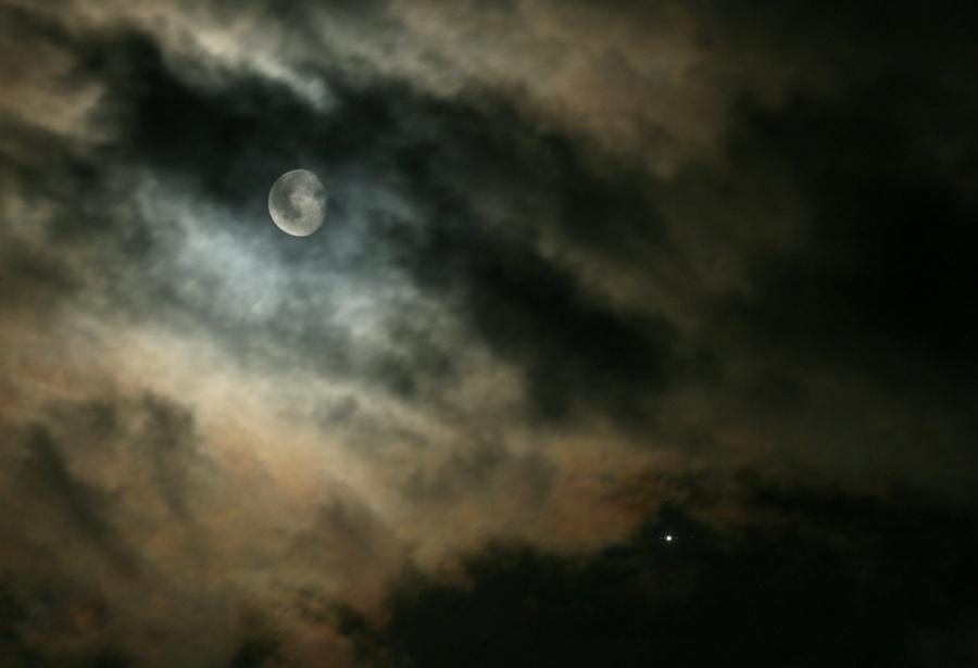 Lunas y Júpiter