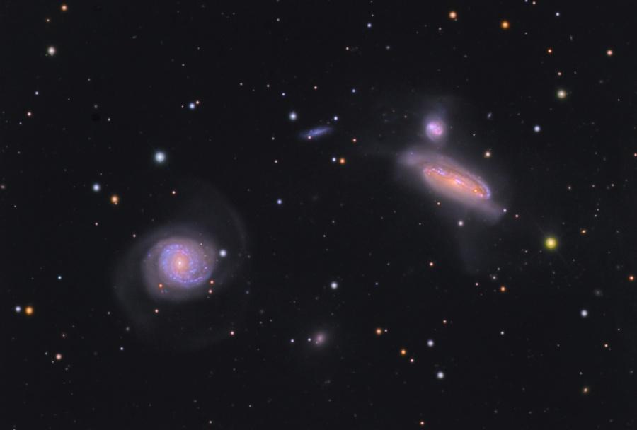 Grupo de Galaxias NGC 7771