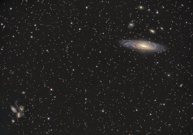 超高清,NGC 7331,版权:NASA,Dietmar Hager拍摄)
