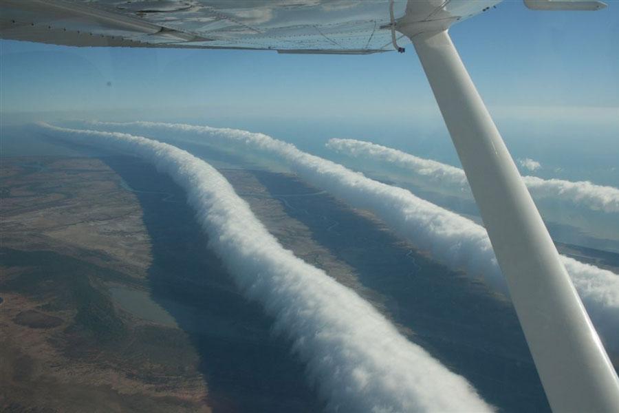 Clouds in the Australian skies