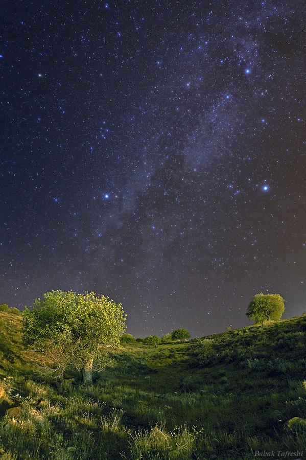 Noche veraniega en Ciudad Astronomía