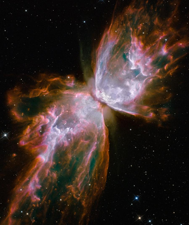 La Nebulosa de la Mariposa desde el Hubble actualizado