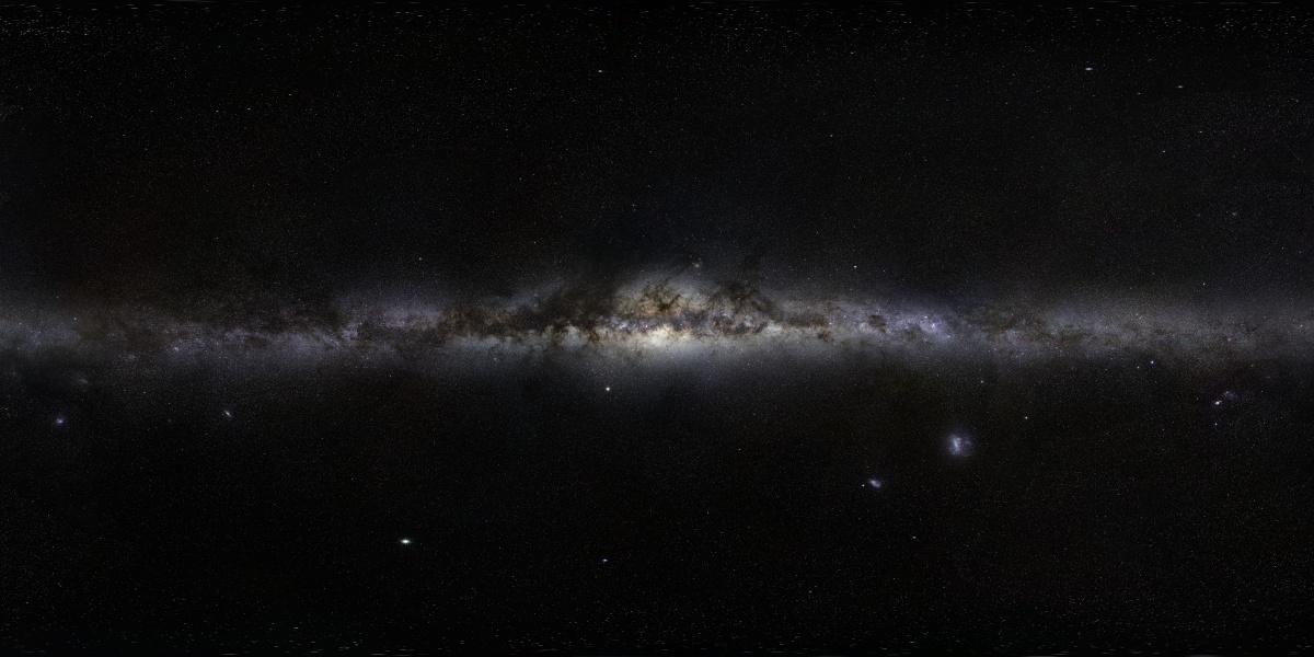 Gigagalaxy Zoom: La Vía Láctea