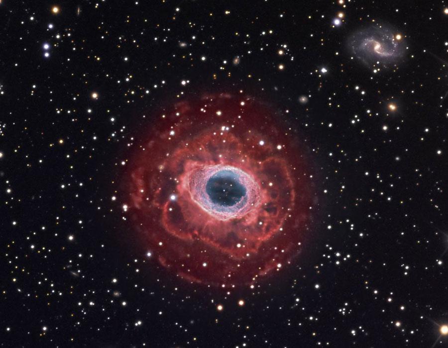 Campo profundo de la Nebulosa del Anillo