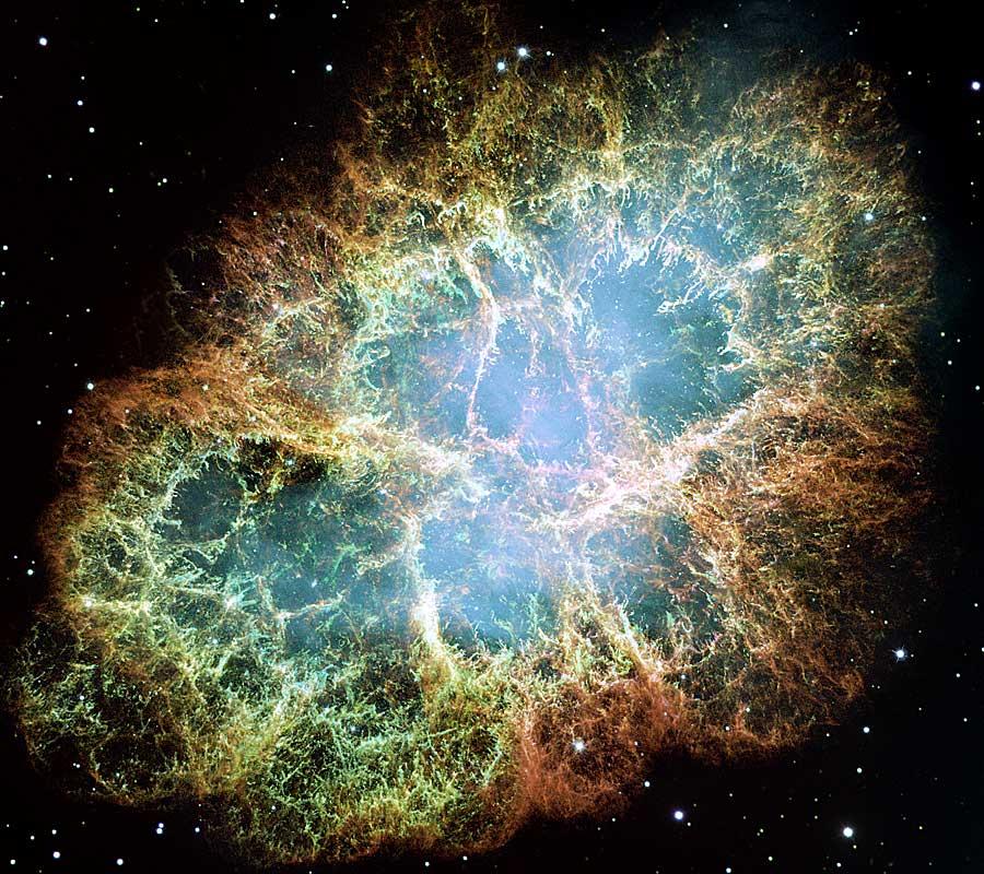 M1: la Nebulosa del Cangrejo desde el Hubble