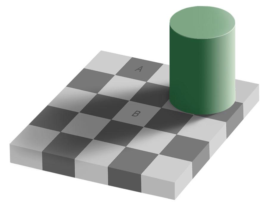 La ilusión de igual color