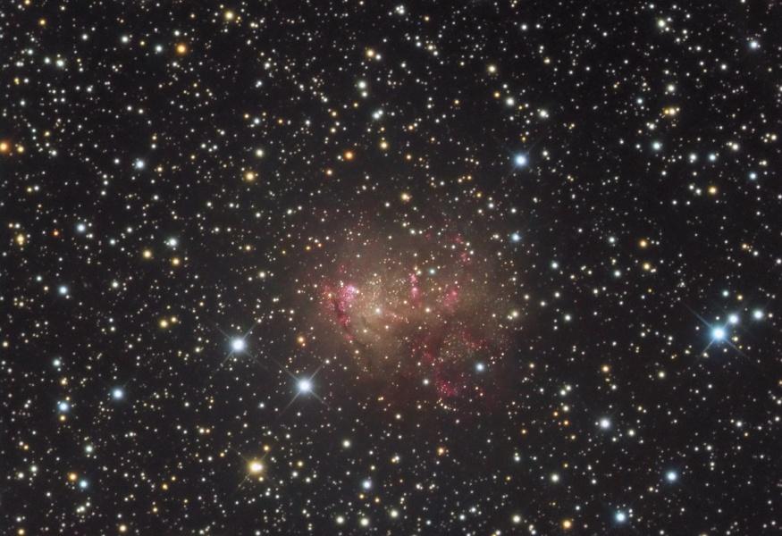 Galaxia Starburst IC 10