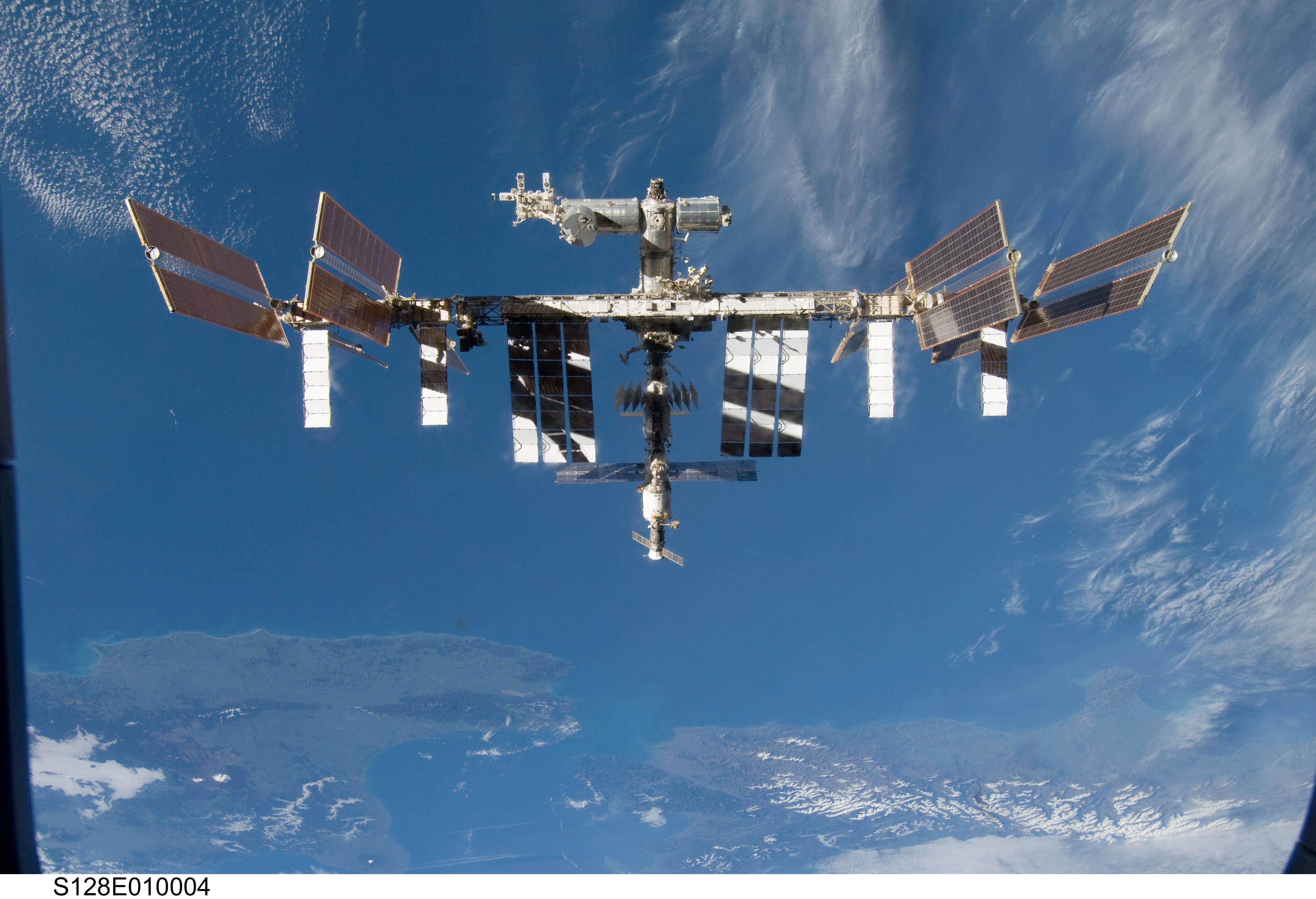 ISS image from APOD