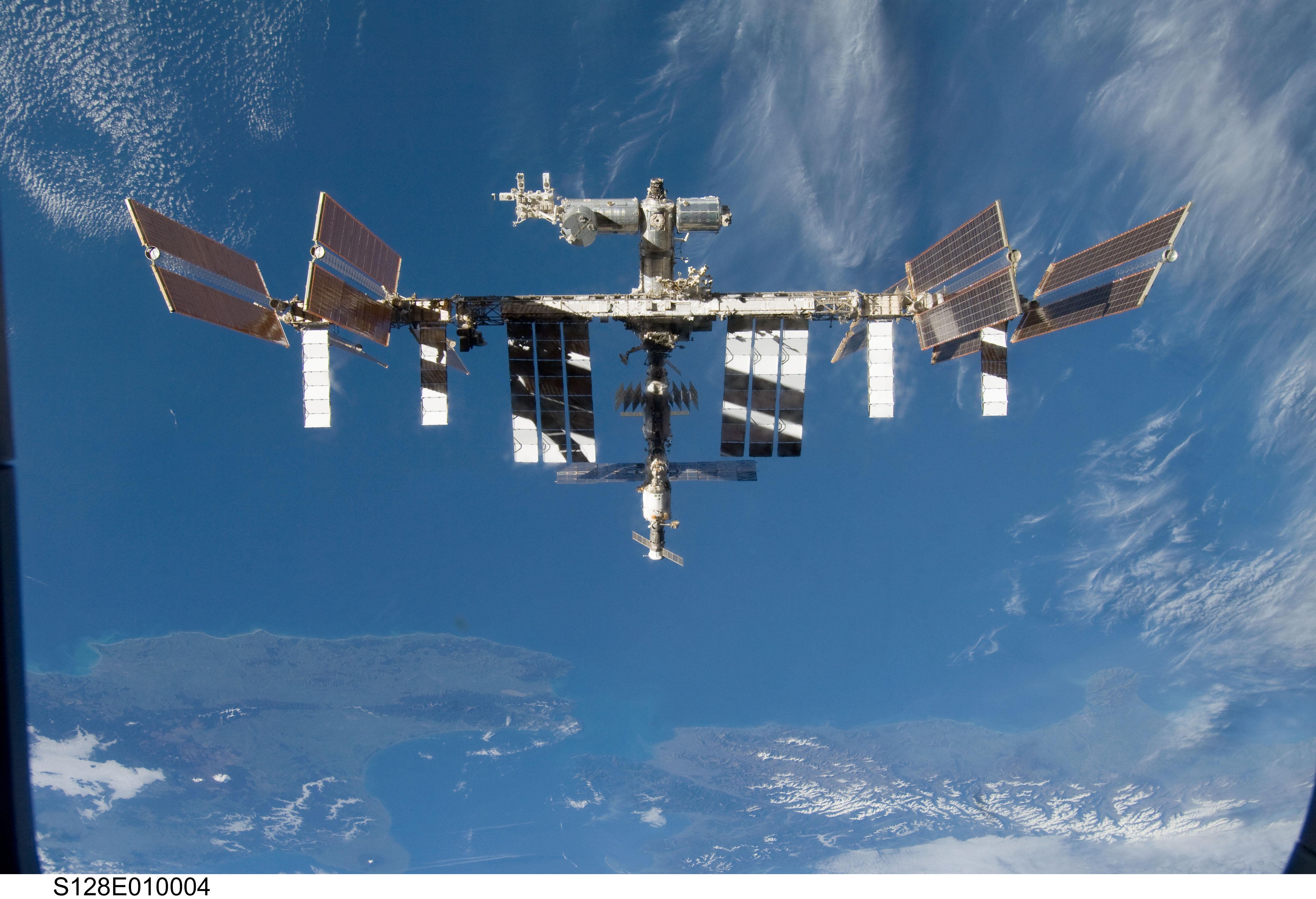 Microorganismos amenazan la Estación Espacial Internacional