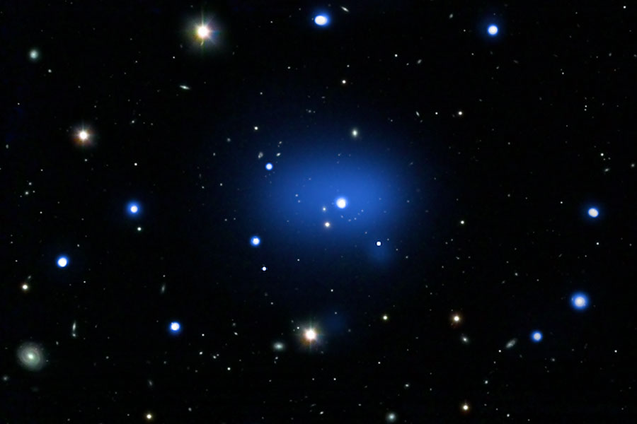 JKCS041: Dosud nejvzdálenější Kupa galaxií