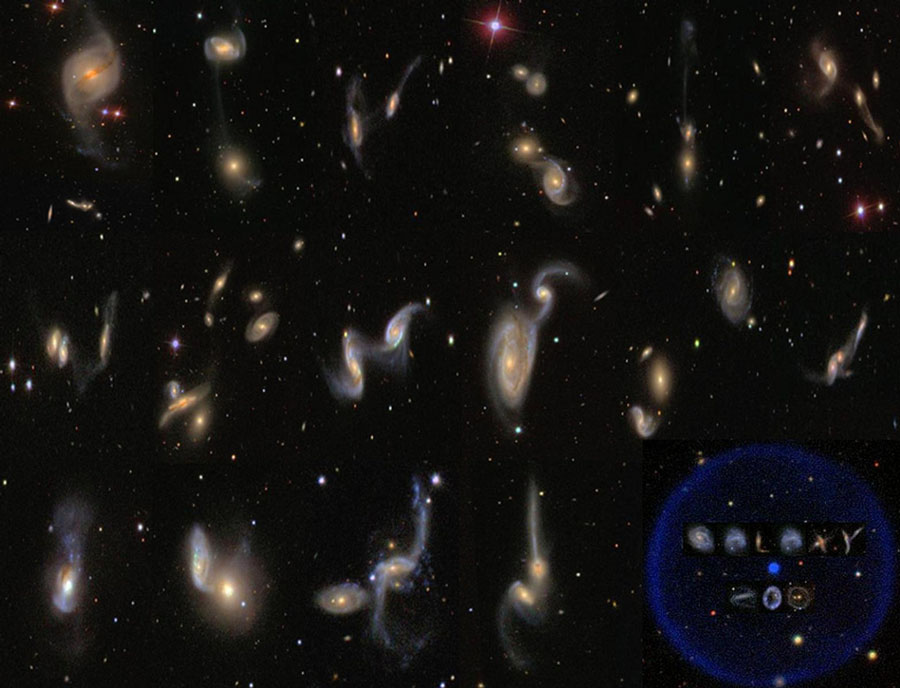 Galaxy Zoo Cataloga el Universo