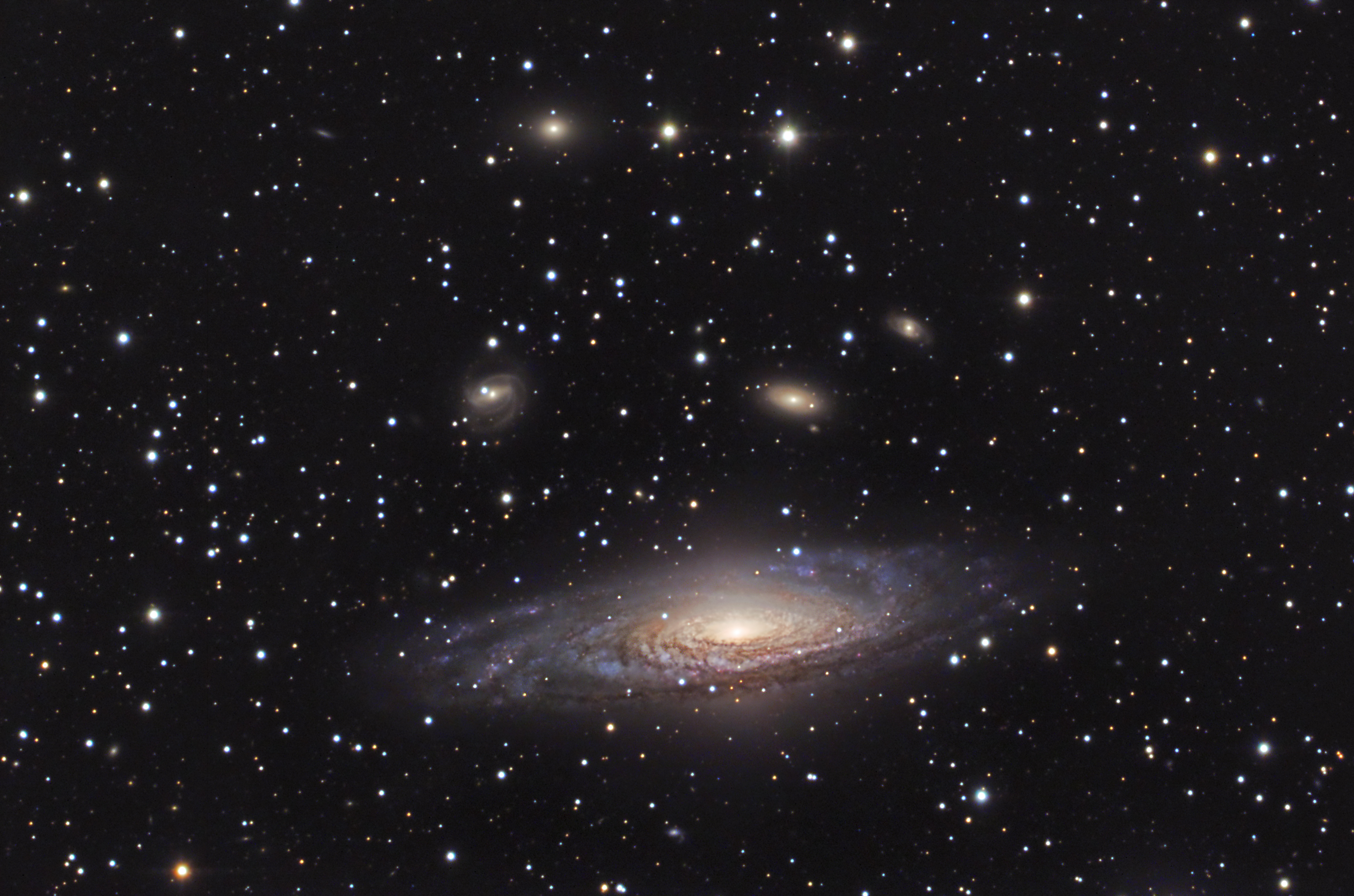 NGC 7331 - Credit: Ralf Muendlein & Wolfgang Kloehr