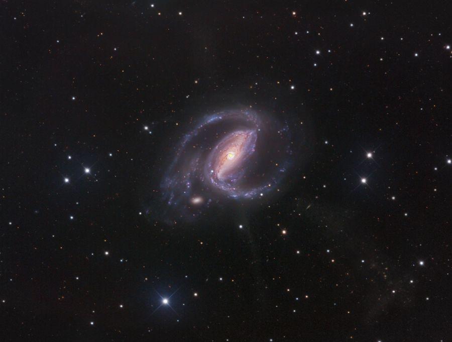 Los chorros de la NGC 1097