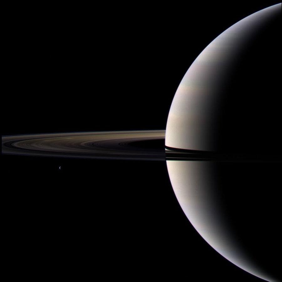 Saturno tras el equinoccio