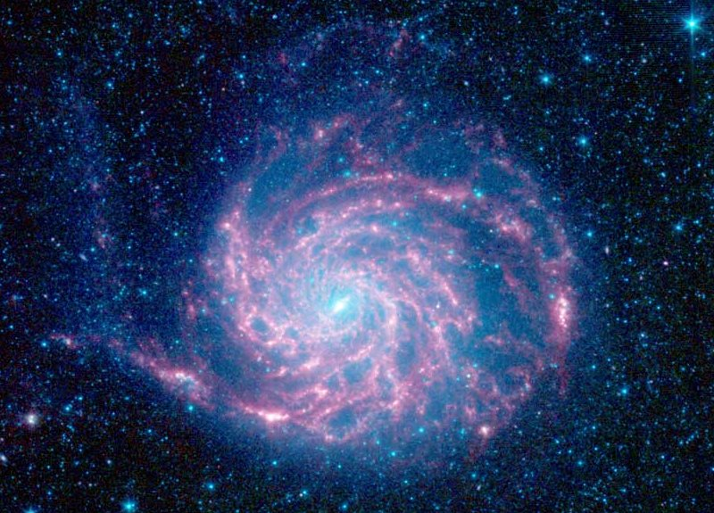 M101 del Spitzer