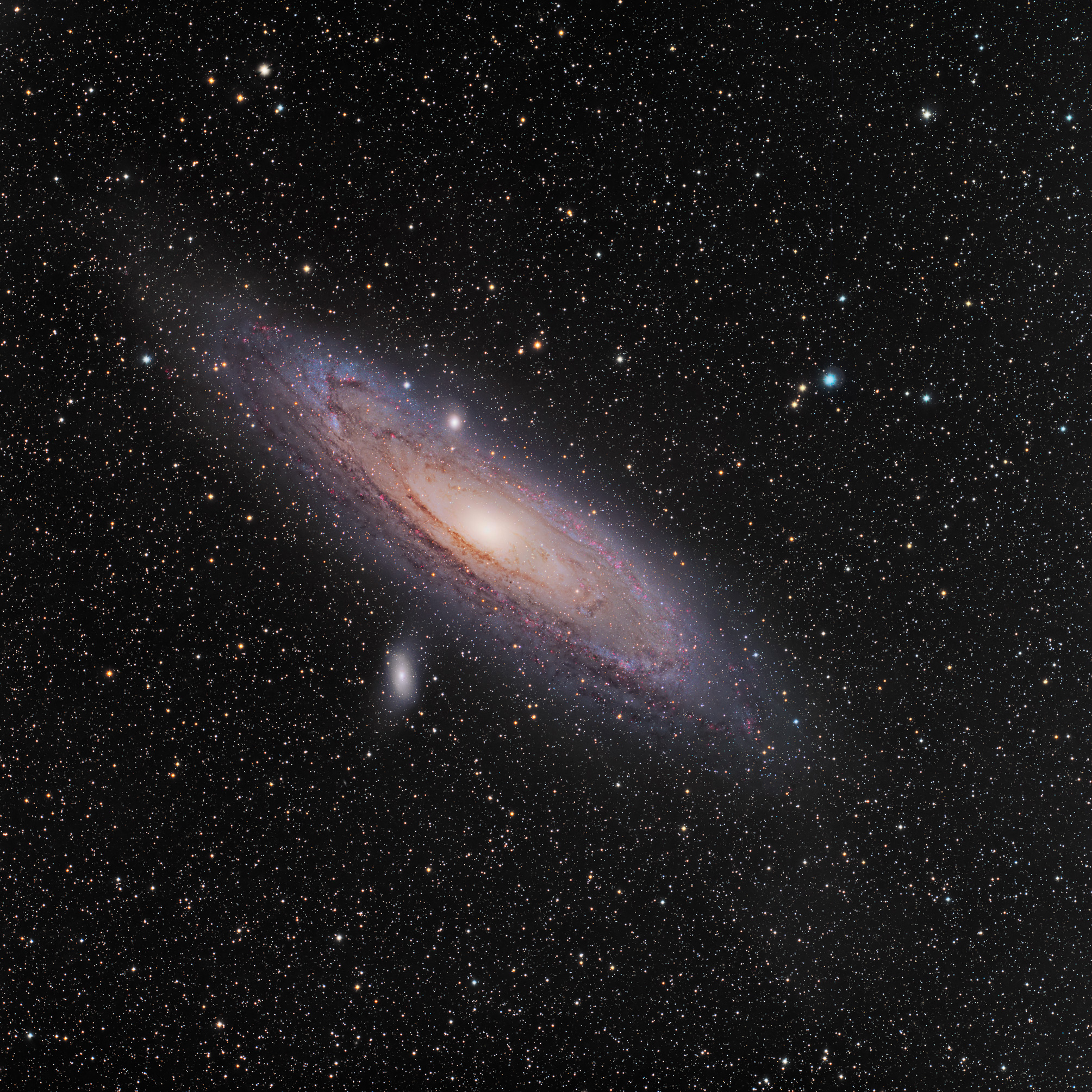 andromeda galaxy distance from earth - HD 1600×1189