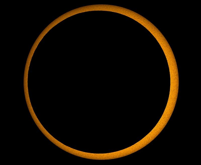 Eclipse solar anular del milenio