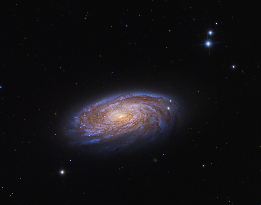 图片说明:第88号梅西耶天体,版权:Adam Block, Mt. Lemmon SkyCenter, U. Arizona