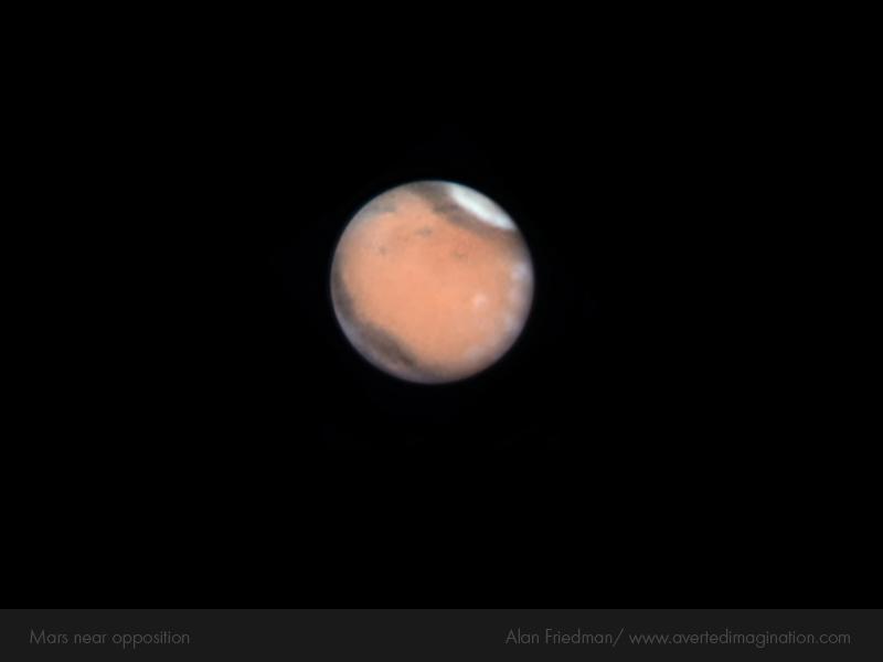 Oposición de Marte en 2010