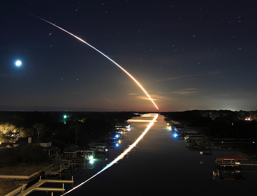 Canal hacia la órbita