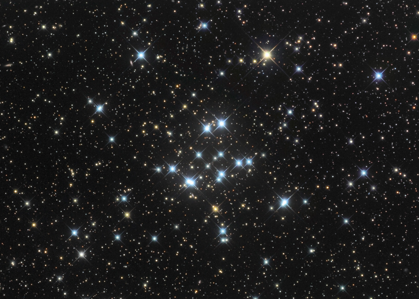 Apod 2010 february 11 star cluster m34 - Images night sky and stars ...