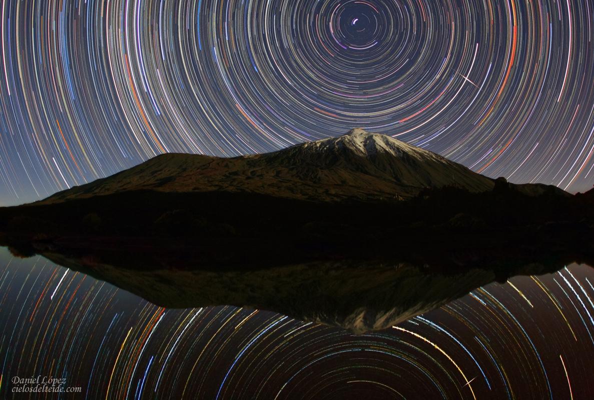 Un peu d'astro pour nos visiteurs ^^ - Page 2 Startrails_Teide_IRIDIUM_DLopez