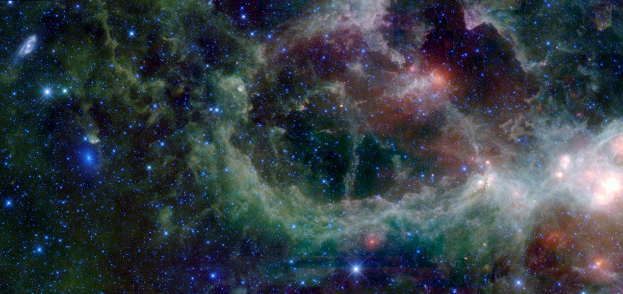 Những thiên hà nằm sau Trái tim: Maffei 1 và 2