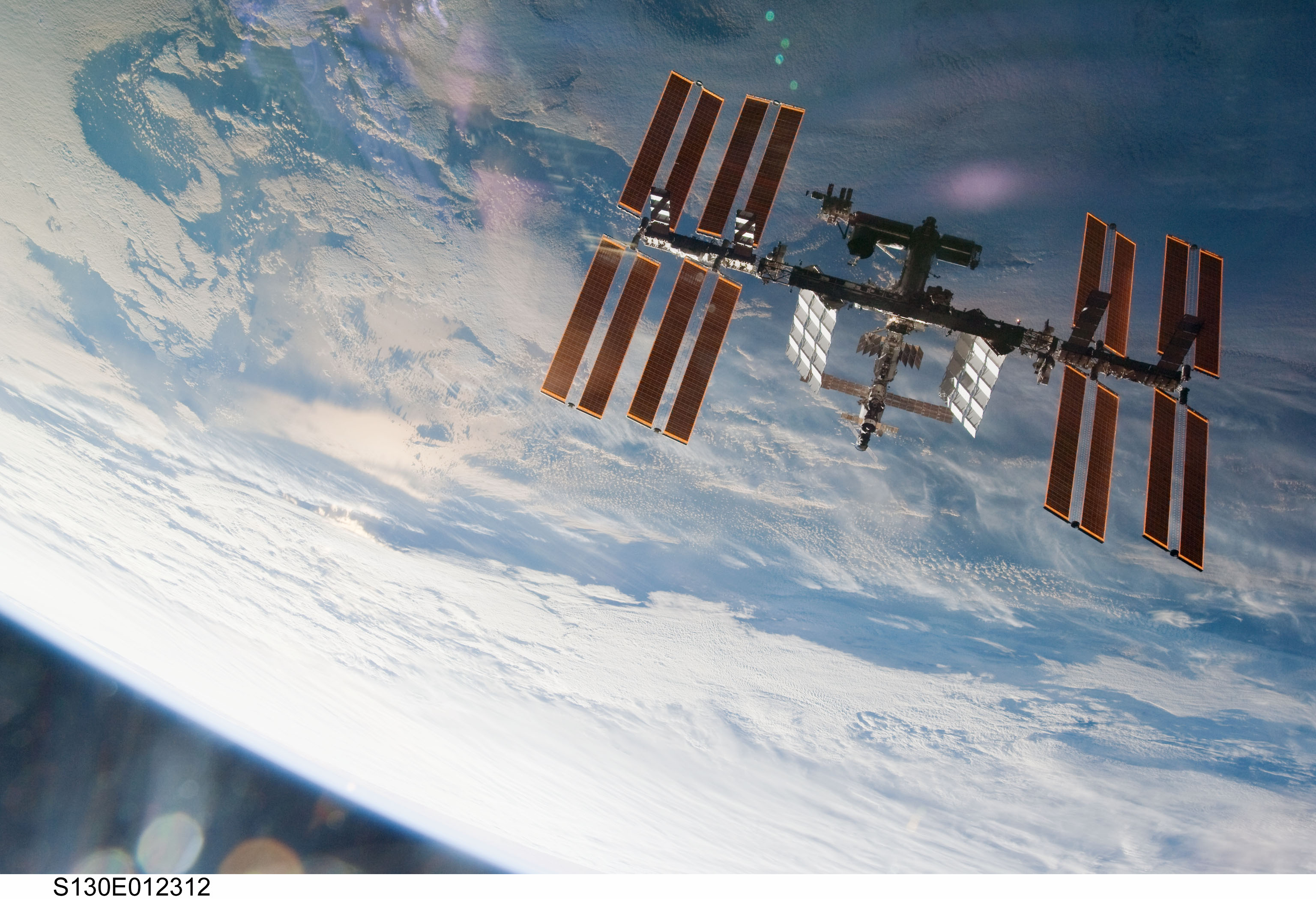 photos of the space station seen from the ground as - photo #4