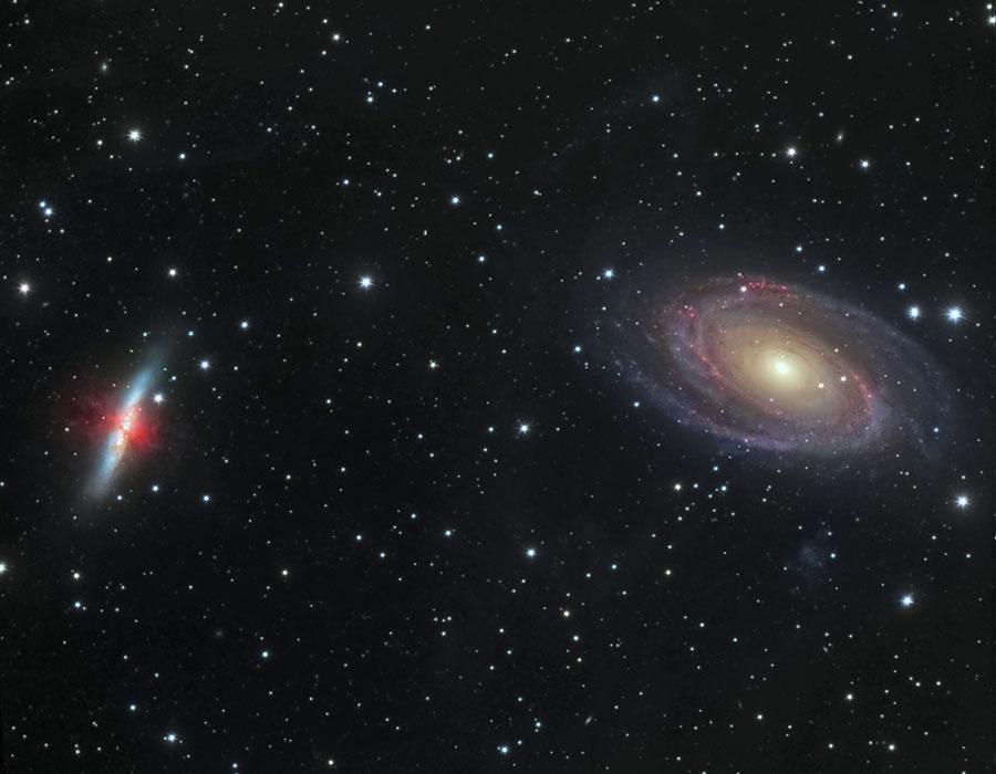 Batallas galácticas: M81 contra M82