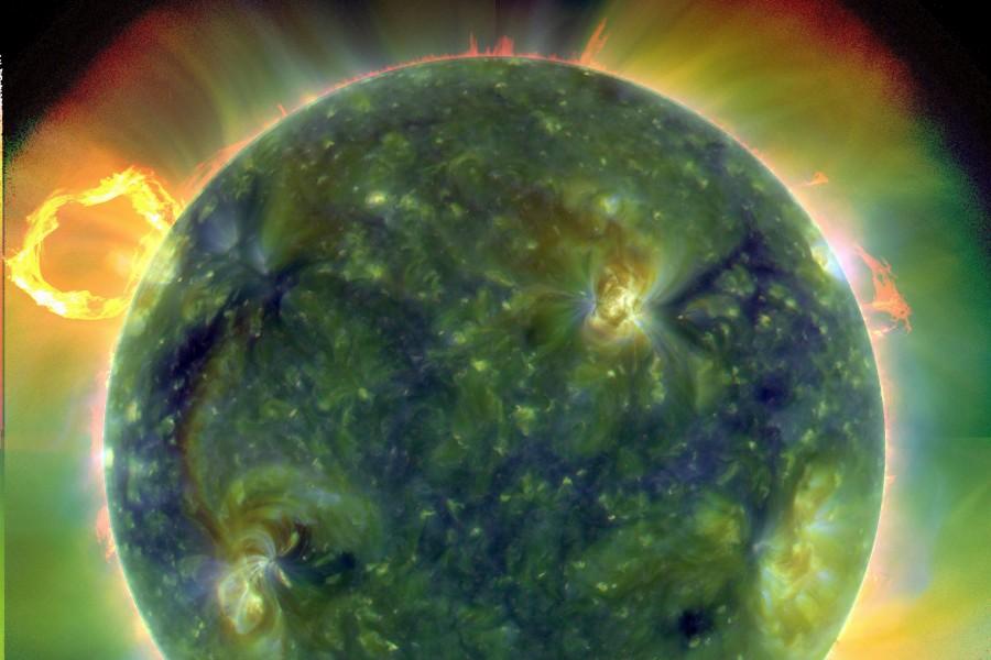 SDO: El Sol en Ultravioleta Extremo