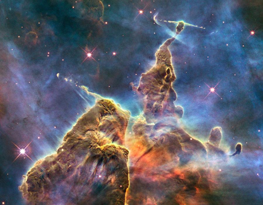 Nebulosa de Eta Carinae - Imagens Do Telescopio Hubble