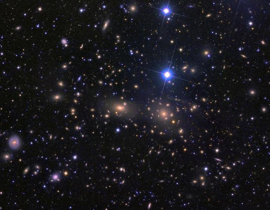 El Cúmulo de Galaxias de Coma