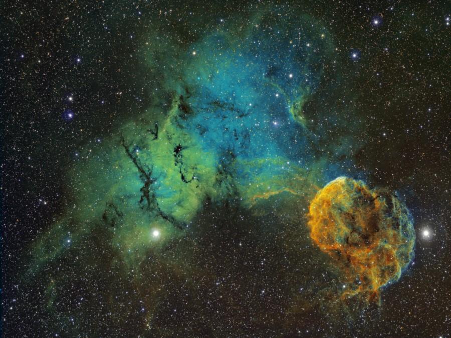 La escurridiza Nebulosa de la Medusa