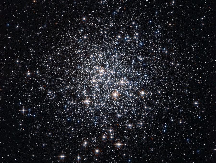 M72: Un cúmulo globular de estrellas