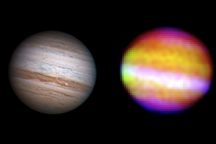 Jupiter desde la estratosfera