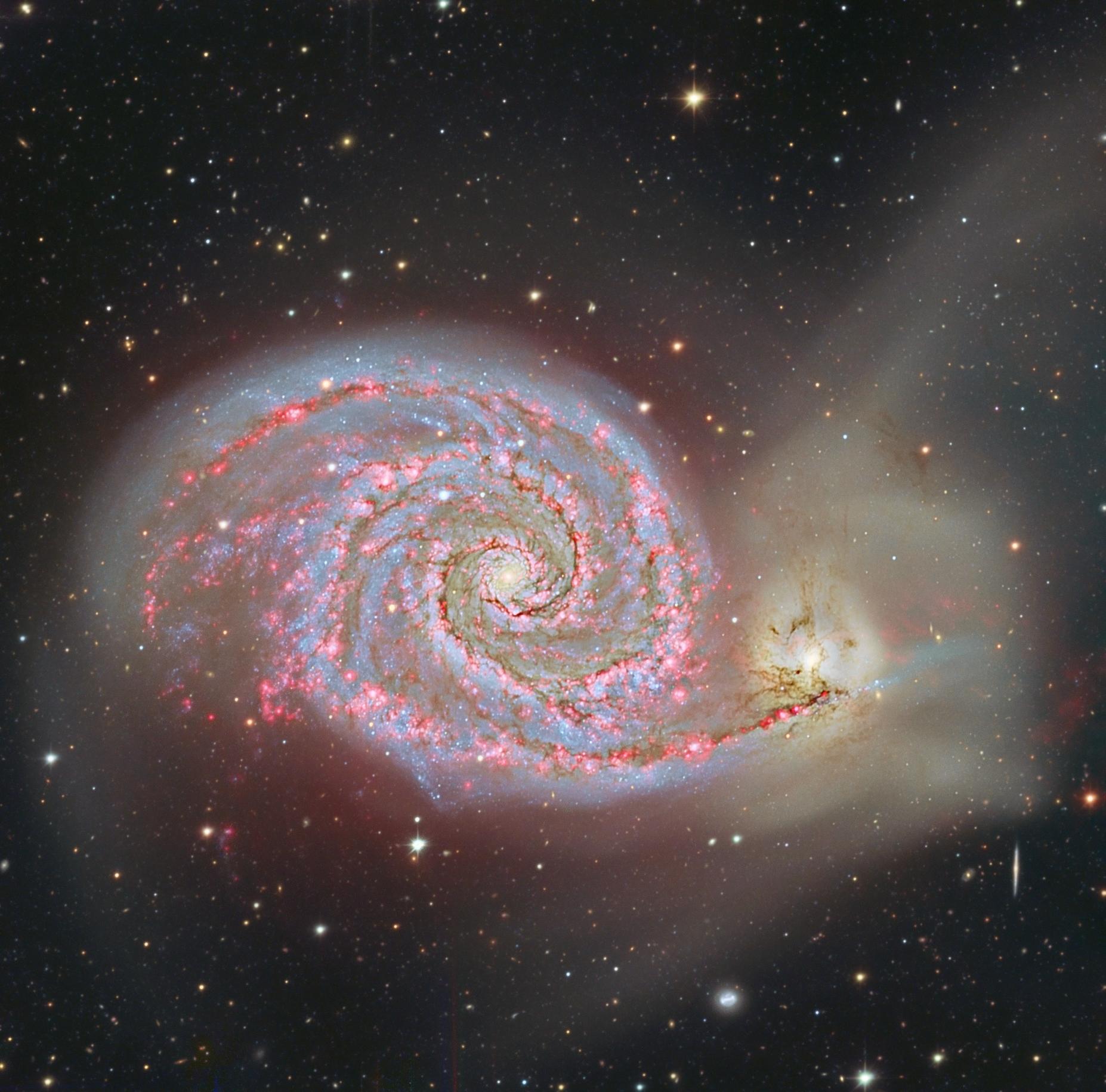 nasa whirlpool galaxy - photo #21