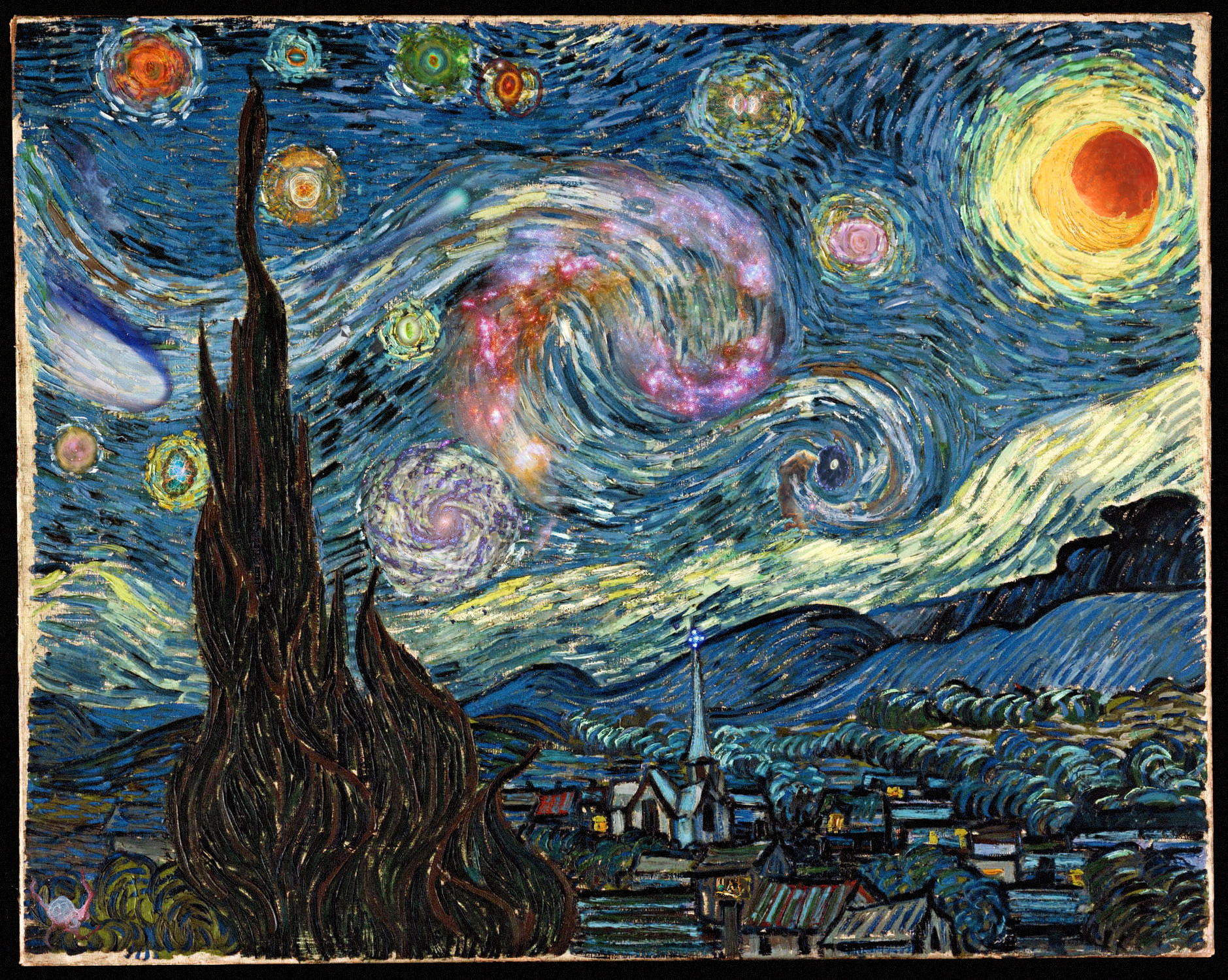 APOD: 2010 June 15 - Starry Night Scavenger Hunt