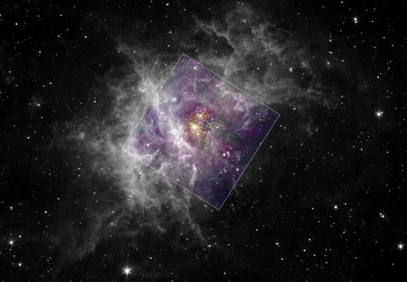 Westerlund 2, joven cúmulo estelar