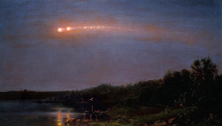 El Meteoro de 1860, de Frederic Church