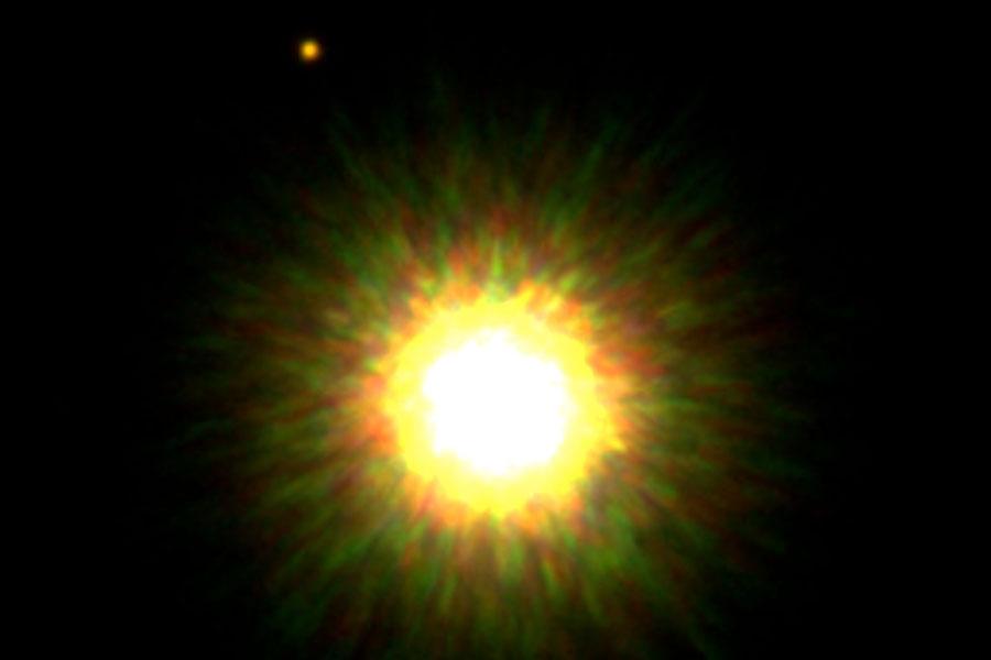 Confirmado acompañante de una estrella joven similar al Sol